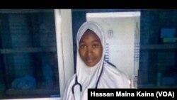 Safina, daya daga cikin Nurses da mayakan Boko Haram suka sace a Rann