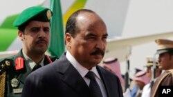 Le président de la Mauritanie, Mohamed Ould Abdel Aziz, à Riyad, Arabie Saoudite, 10 novembre 2015.
