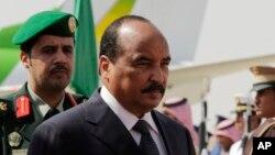 Le président de la Mauritanie, Mohamed Ould Abdel Aziz, 10 novembre 2015.