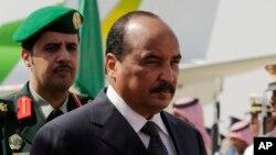Le président de la Mauritanie, Mohamed Ould Abdel Aziz, à Riyad, en Arabie Saoudite, 10 novembre 2015.