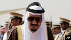 Le roi Salman d'Arabie saoudite, Riyad, Arabie Saoudite, le 10 novembre 2015. (AP Photo/Hasan Jamali)