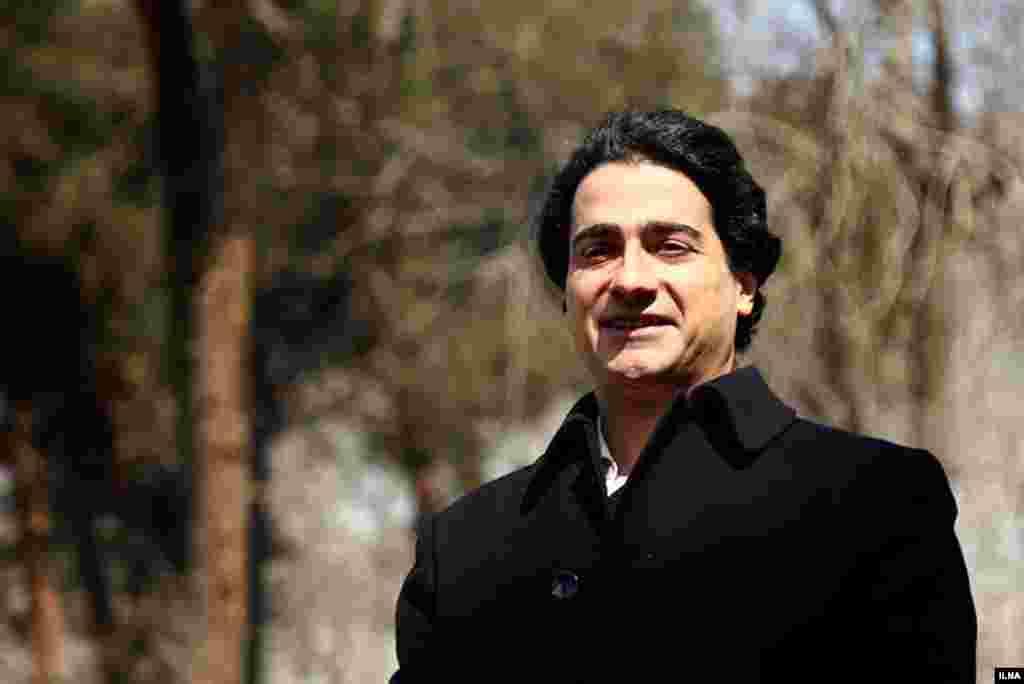 همایون شجریان در مراسم رونمایی از آلبوم جدید خود درباره پدرش استاد محمدرضا شجریان گفت، او درگیر درمان است و برای همین امکان اجرای برنامه ندارد. عکس: مهدی نصیری