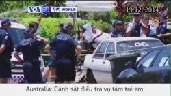 Úc điều tra vụ tám trẻ em bị đâm chết (VOA60)