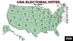 حوزه های انتخاباتی ایالات متحده