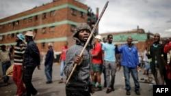 南非約翰內斯堡發生反移民暴力