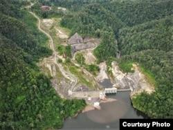 PLTA Batang Toru di Tapanuli Selatan, Sumatera Utara (Foto: Courtesy batangtoru.org).