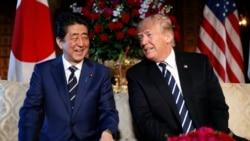 特朗普與安倍通話 盛讚個人友情及兩國盟友關係