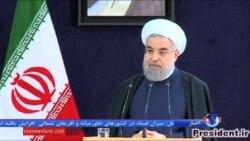 """نمایشگاه کتاب در """"شهر آفتاب""""؛ روحانی: انتشار کتاب را به انجمن نویسندگان و ناشران واگذار کنیم"""