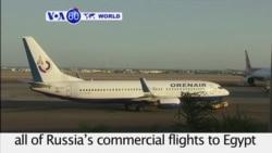 VOA60 World - Putin Halts Russian Flights to Egypt