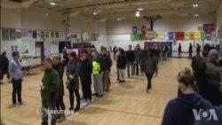 De longues files d'attente dans les bureaux de vote de New York (vidéo)