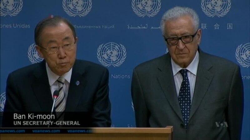 UN Syria Envoy Brahimi to Resign