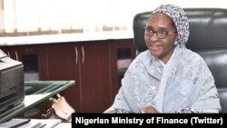 Ministar Kudi A Najeriya Zainab Ahmed.