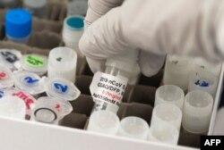 Nita Patel, Direktur Penemuan Antibodi dan Pengembangan Vaksin di Gaithersburg, Maryland pada 20 Maret 2020. (Foto: AFP)