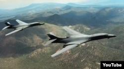 Бомбардировщики B-1 Lancer