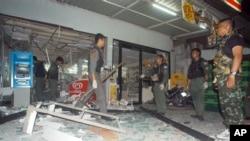 Ledakan bom di Thailand