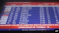 Airlines Cancel Some Jakarta Flights to Avoid Volcanic Ash