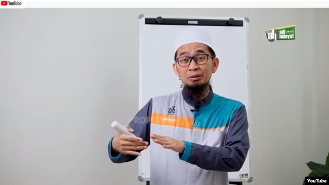 Ceramah Ramadan di situs YouTube (foto: ilustrasi).