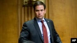 El senador estadounidense Marco Rubio expresó renovado apoyo a Venezuela.