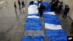 敘利亞街頭收屍隊