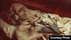 Periset menemukan bakteri TB pada mummi warga Hungaria, Terézia Hausmann (foto: dok. Hungarian Natural History Museum).