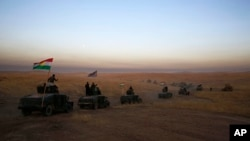 伊拉克军队对摩苏尔发起进攻(资料图)