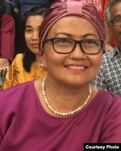 Aktivis perempuan, Nursjahbani Katjasungkana (courtesy: Facebook).