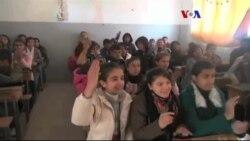 Kobani'de Çocuklar Okula Döndü