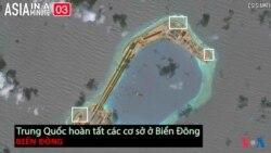 Trung Quốc hoàn tất các cơ sở ở Biển Đông (VOA60 châu Á)