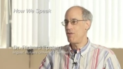How We Speak - extended interview with Dr. Richard Epstein