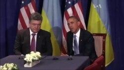 Обама і Порошенко зустрілися у Варшаві