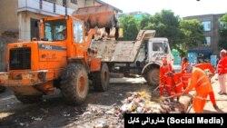 Kabul Municipality workers