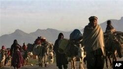 زمین کے تنازع پرہلاکتوں کے خلاف افغانوں کا احتجاج