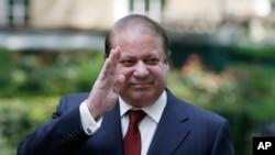 FILE - Pakistan's Prime Minister Nawaz Sharif.