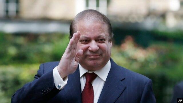 FILE - Pakistan's Prime Minister Nawaz Sharif, Apr. 30, 2014.