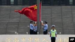 중국 산둥성의 법원 (자료사진)