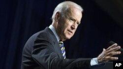 Wapres AS Joe Biden hari Senin (25/5) mengucapkan terima kasih kepada pasukan Irak (foto: dok).