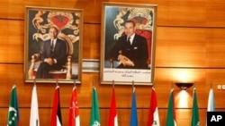 모로코에서 시리아 사태를 논의하고 있는 아랍연맹