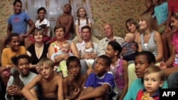 "Scena iz ukrajinskog dokumentarca ""Crno-beli porodični portret"""
