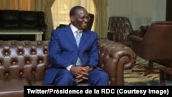 Le nouveau premier ministre congolais, Sylvestre Ilunga, à Kinshasa, 20 mai 2019. (Twitter/Présidence de la RDC)