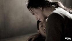 북한 인권에 관한 영화 '겨울 나비'의 한 장면. (자료사진)