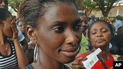 Des électrices ivoiriennes à Abidjan
