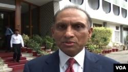 پاکستانی سیکرٹری خارجہ اعزاز احمد چودھری