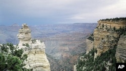The majestic Grand Canyon is one of America's most powerful international tourist magnets.