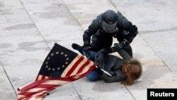 Policija je saopštila da je na Capitol Hillu uhapšeno 26 osoba