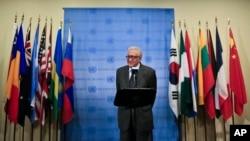Diplomat Laxdar Braximiy 31-mayda Suriya bo'yicha muzokarachi kursisini bo'shatadi. O'rnini kim egallashi hali noma'lum.