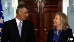 Klinton i Tači o dijalogu i integracijama