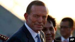 Thủ tướng Australia Tony Abbott cam kết cải thiện các mối quan hệ với Jakarta