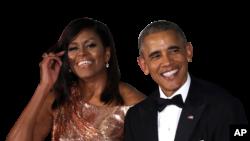 Michelle e Barack Obama preparam um livro cada