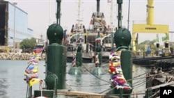 ایرانی آبدوزیں بحیرہ احمر میں پہنچ گئیں