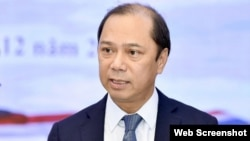 Thứ trưởng Ngoại giao Việt Nam Nguyễn Quốc Dũng. Photo VietnamNet